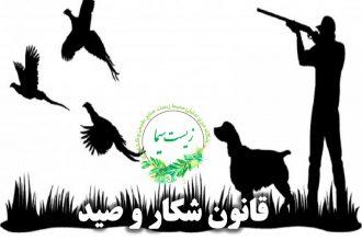 قانون شکار و صید
